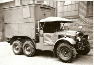 CDSW 6x4 Radio/Comms Vehicle
